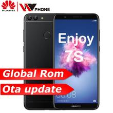 "Huawe P Smart disfrutar S 7S 3G 32G Octa core 5,65 ""2160*1080P Android 8,0 de 3000 mAh Dual trasera Cámara huella dactilar ID"