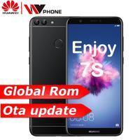 Huawe P Smart Enjoy 7S 3G 32G Octa core 5.65'' 2160*1080P Android 8.0 3000 mAh Dual Rear Camera Fingerprint ID