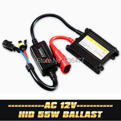 ФОТО 2PCS 12V AC Xenon 55W Digital Slim Electronic Ballast for HID Conversion Fog Headlight H1 H3 H4 H7 H11 9005 9006
