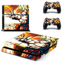 Dragonball PS4 Console Designer Skin Sticker for Sony PlayStation 4 System plus Two(2) Decals for PS4 Dualshock Controller