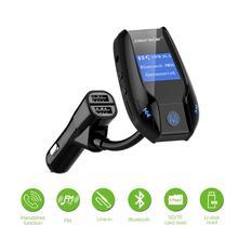 Автомобильный MP3-плеер Bluetooth fm-передатчик Беспроводной аудио модулятора автомобильный комплект громкой связи с 3 USB Поддержка USB/TF Flash Drive