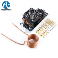 1000W 300V 20A ZVS Tesla Induction Heating Board Heater Cooling Fan 12V 36V Assembled Anti Static Heating Power Module