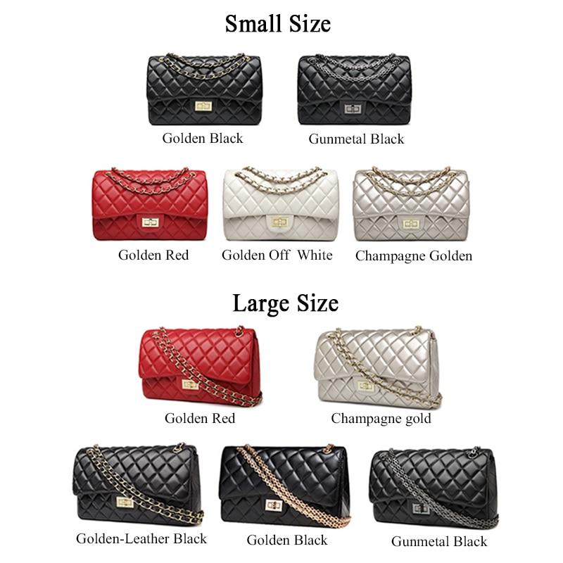где купить HaLuYa Diamond Lattice Crossbody Women Bag Designer Handbags High Quality Chain Lady Women Messenger Bag Plaid Sac A Main Femme дешево