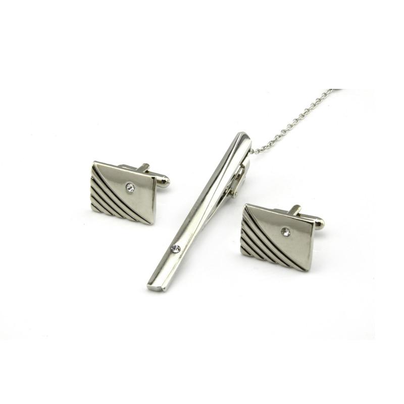 Super Skinny Metal Tie Clips Mens Boys Kids 2CM x 1CM Bar Clasp Stainless Steel