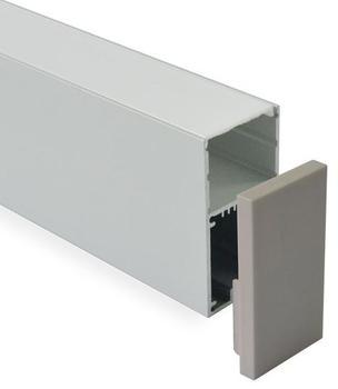 Moderne en aluminium canal pour pendentif lumières LED Lumière Linéaire led bande lumière titulaire 10 m/lot DHL livraison gratuite