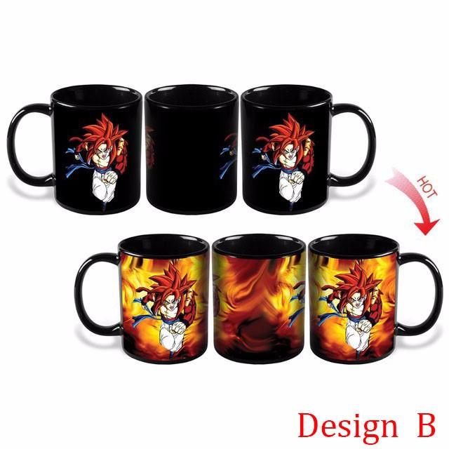 Changing Color Dragon Ball Z Mug Heat Reactive Eco Friendly