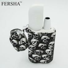 FERSHA Skull Electronic Cigarette Case for IQOS Electronic Cigarette for2.4 plus 4 Color Cases