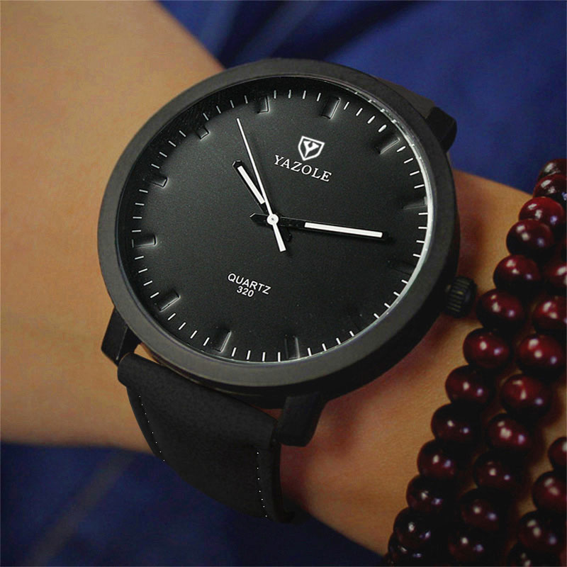 YAZOLE Fashion Quartz Watch Men Top Brand Luxury Famous New Casual Wrist Watches For Man Clock Male Wristwatch Relogio Masculino цена