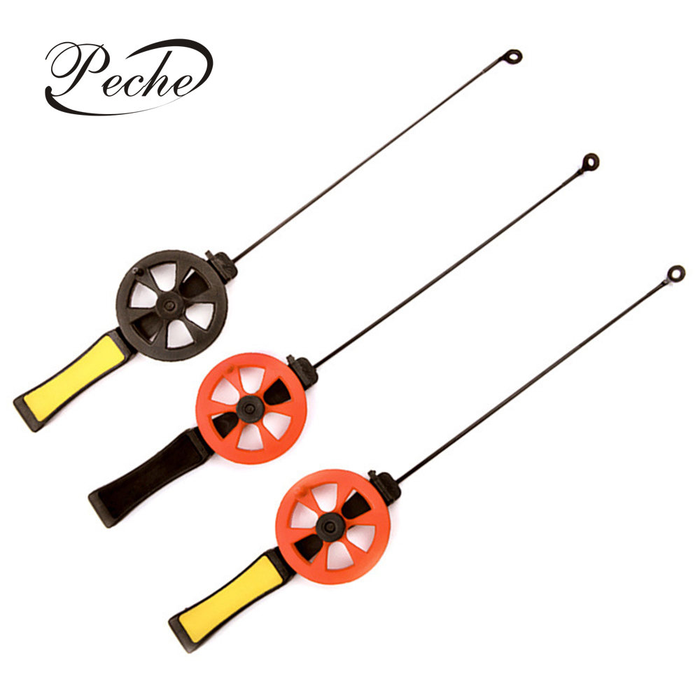 Peche Ice Winter Fishing Rod With Reel Outdoor Sport Fish Tackle Pole Pesca Combination Conveniently Carrying 30g