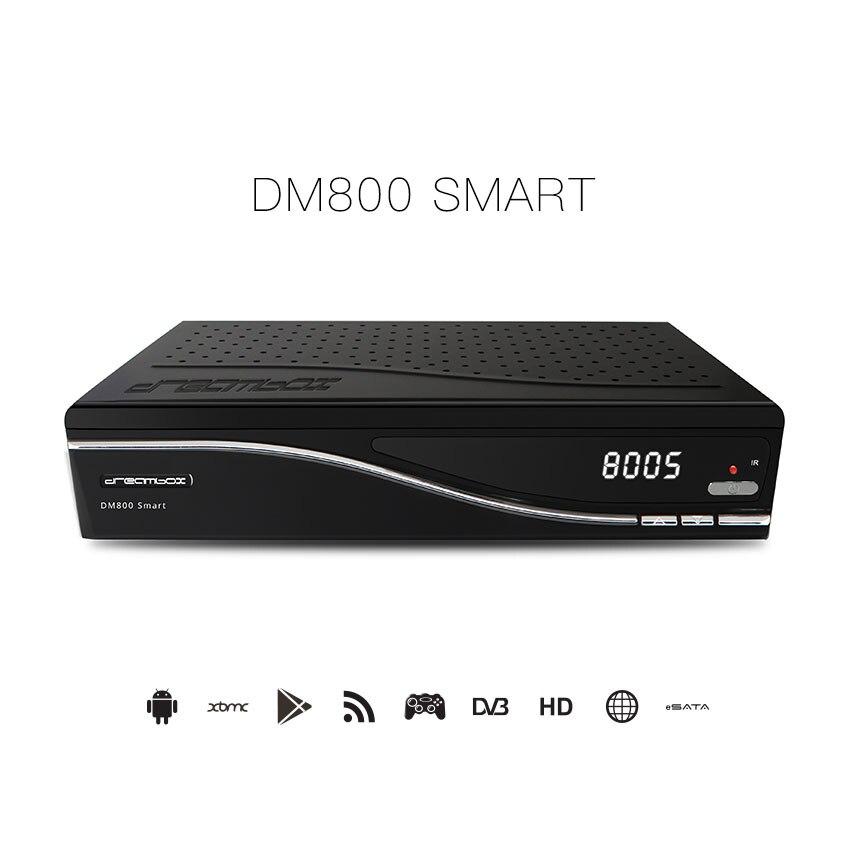 2019 boîte de rêve Android boîte Satellite Android TV boîte DVB-S2 DM800 SmartT HD CCcam récepteur - 2