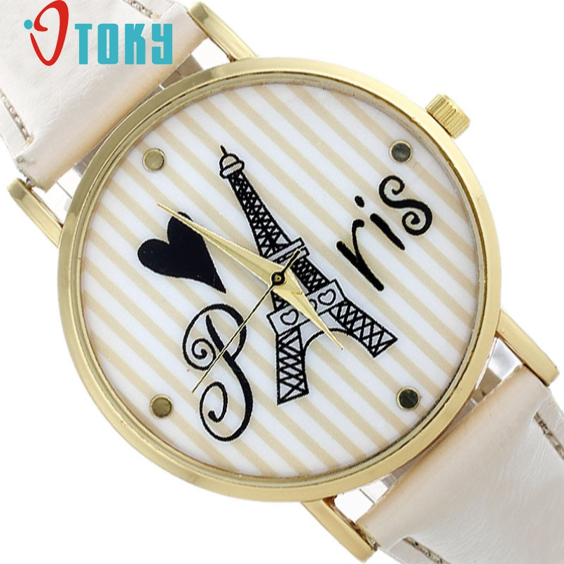 Excellent Quality Women New Fashion Roman Leather Analog Quartz Wrist Watches Business Woman Watches Clock Female Casual Watch
