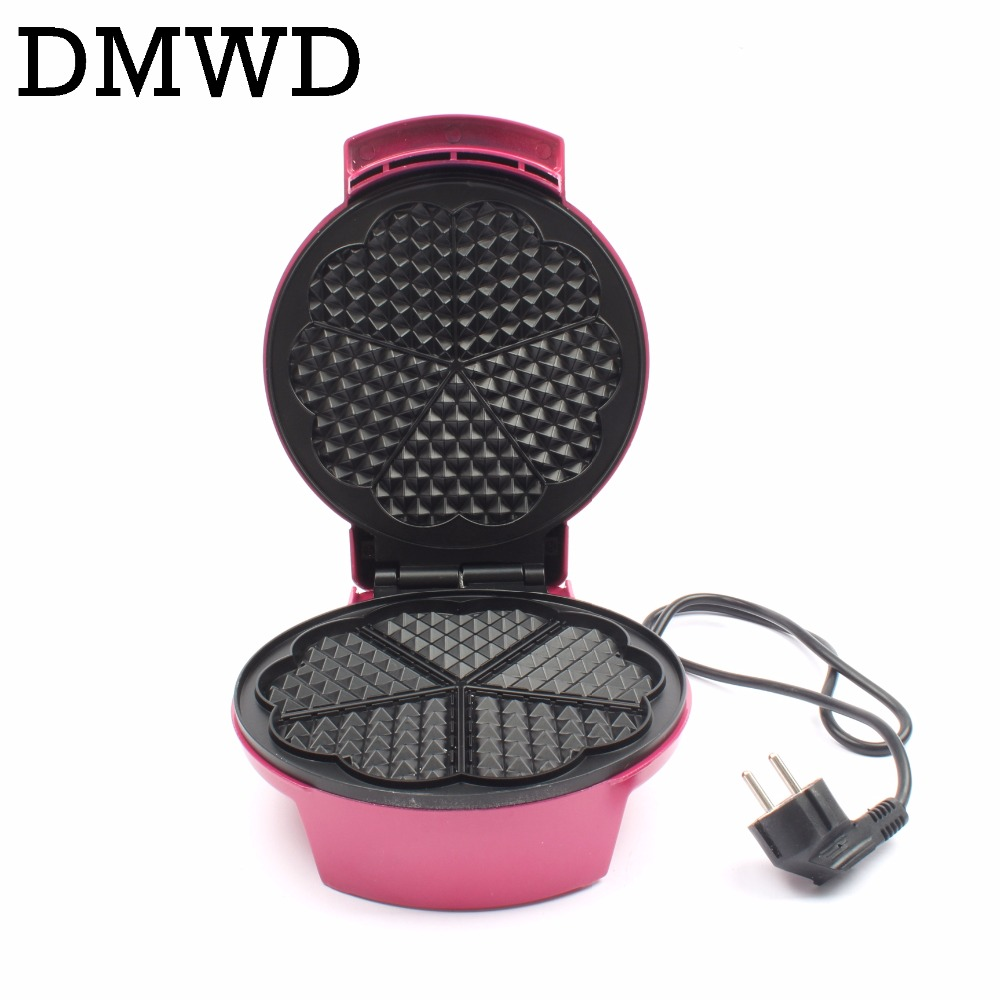 DMWD Electric Bubble Waffle Maker mini Egg cake oven grill Eggs Muffin Toaster breakfast crepe baking machine 220V-240V EU plug dmwd mini household bread maker electrical toaster cake cooker 2 slices pieces automatic breakfast toasting baking machine eu us