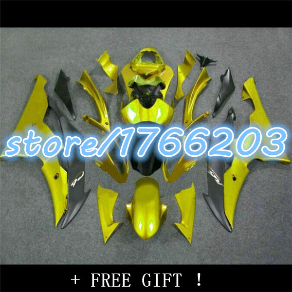 Yellow black <font><b>Fairing</b></font> kit for YZFR6 08 09 10 11 12 13 14 <font><b>YZF</b></font> <font><b>R6</b></font> <font><b>2008</b></font> 2014 YZF600 <font><b>Fairings</b></font> <font><b>Set</b></font> Ning image