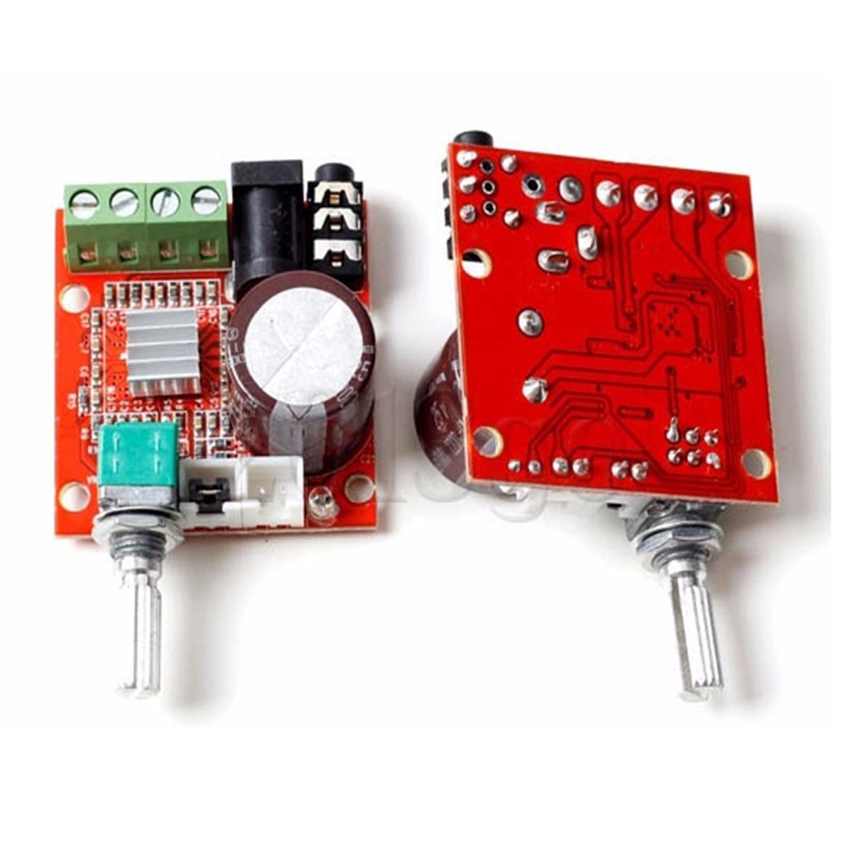 Buy Leory Super Slim 15w Pam8610 Class D Digital Details About 12v Mini Hifi Audio Stereo Amplifier Circuit 1pcs Hi Fi Board Dual Channel