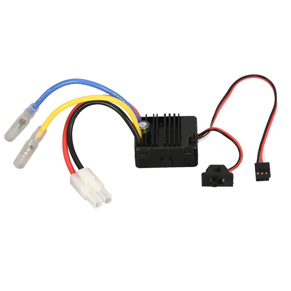 Image 4 - 60A Brushed ESC with 5V/2A BEC Tamiya Plug for HSP HPI Kyosho TRAXXAS 1/10 RC Crawler Off road Climbing Car-in Parts & Accessories from Toys & Hobbies