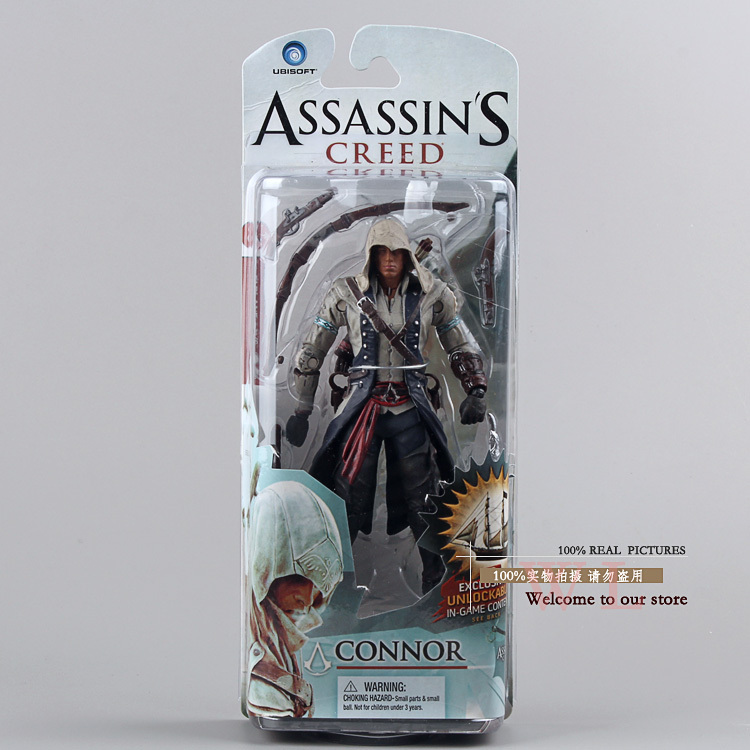 Assassin's Creed III 3 Connor PVC Action Figure Collection Model Toy 6