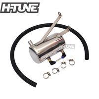 Oil Catch Can Tank Stainless Steel 3.0L 1KD Diesel Turbo for Hilux Vigo 2005+