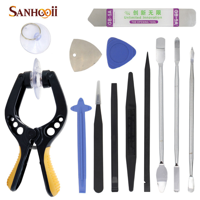 13in1 LCD Screen Opening Pliers Pry Tools Repair Tool Kit For iPhone 4s 5s 6 iPad iPod Cellphone Smart Phone Tablet PC Computer