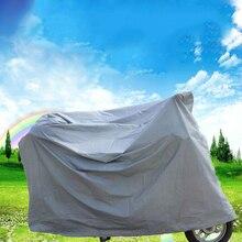 Bicicleta cubierta de polvo del vehículo eléctrico de la motocicleta cubierta de sol protección lluvia accesorios de la cubierta