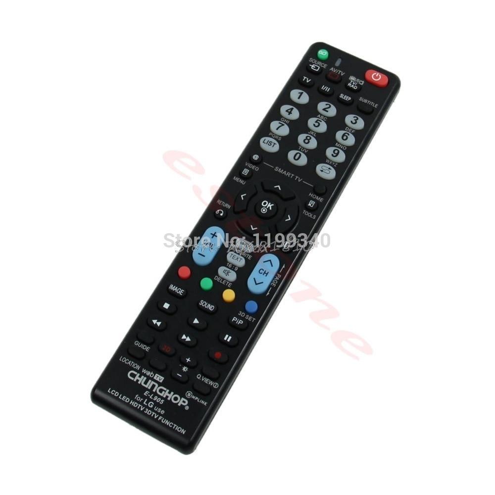 Universal-Fernbedienung E-L905 Remote Control for LG Verwendung LCD LED HDTV 3DTV-Funktion Z17 Drop ship