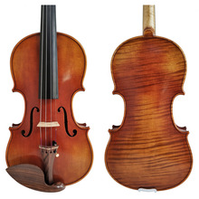 Free Shipping Copy Stradivarius 1716 100% Handmade FPVN04 Oil Varnish Violin +  Carbon Fiber Bow  Foam Case цена
