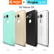 100% Original SGP / Ringke Nexus 5X Case Thin Fit Exact-Fit Premium Matte Lightweight Hard Back Cover Case for Google Nexus 5X