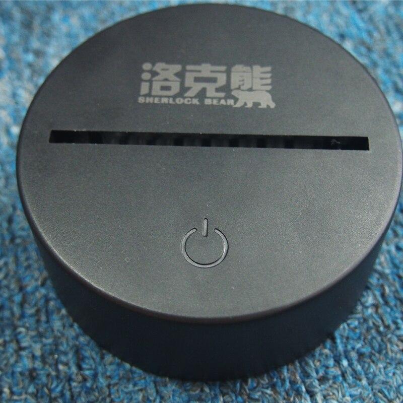 Luzes da Noite venda novidade buda 3d usb Quality : Tpo Quality