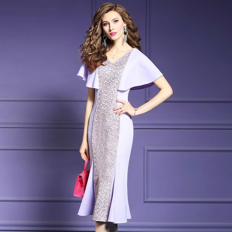 Red Women Elegant Evening Dresses Sexy Formal Evening Gown V-neck Party Asymmetric Reception Evening Dresses Plus Size Es1845 Weddings & Events