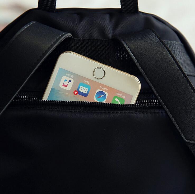 HTB1Zi9riiwIL1JjSZFsq6AXFFXat 2019 New Women Backpacks Vintage Korea Brand Design Bag Travel Anti Theft Backpack Nylon High Quality Small Rucksack ZZL188