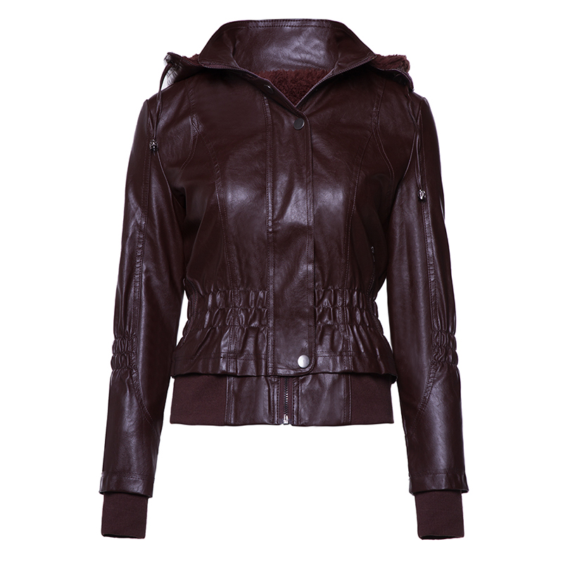 Clocolor Women Jacket Coat Women 2018 Winter Autumn Slim Zipper Female Warm Causal Outerwear Solid Jacket