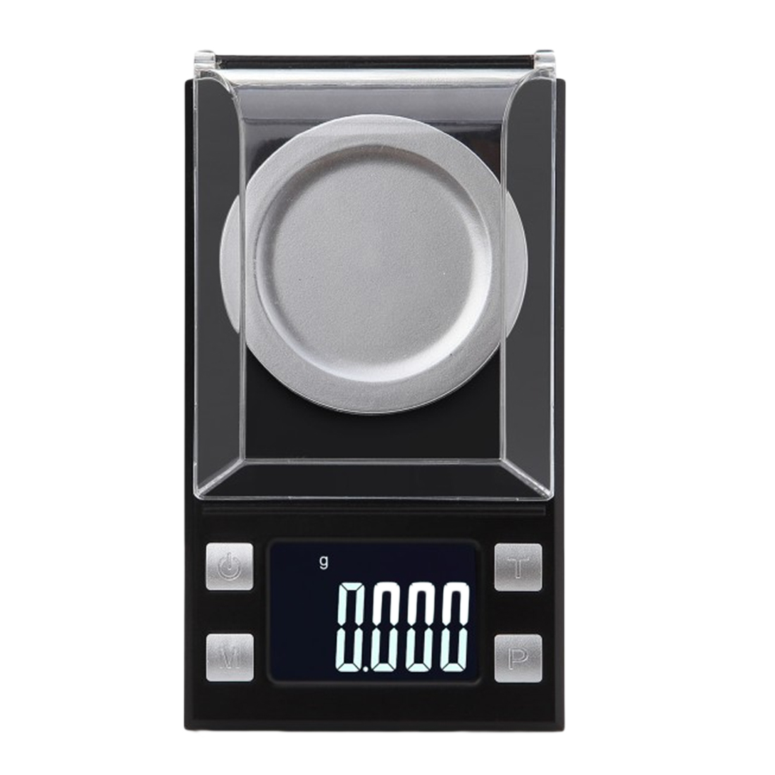 LCD Digital Scale 1pc 50g/0.001g Electronic Scales Portable Mini Lab Weight Milligram Scale 0.001g Jewelry Medicinal Herbs weiheng 50g 0 001g jewelry lcd digital scale lab weight milligram scale balance diamond carat electonic scales high precision