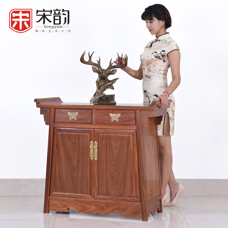 Song Yun Mahogany Furniture Rosewood Antique Sideboard Lockers Two Chinese Wood Bedroom Cabinet Cabinet Corner Cabinet