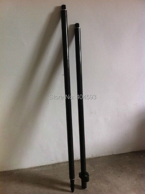 BRAND NEW POLE 2M ,carbon fibre survey poles,GPS SURVEYING TYPE