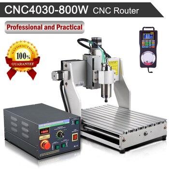 Nueva fresadora CNC CNC4030 800W 110 V/220 V, fresadora de grabado