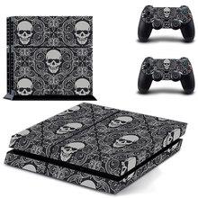 Skulls Motiv Vinyl Skin Sticker Cover for Sony PS4 PlayStation 4 and 2 controller skins