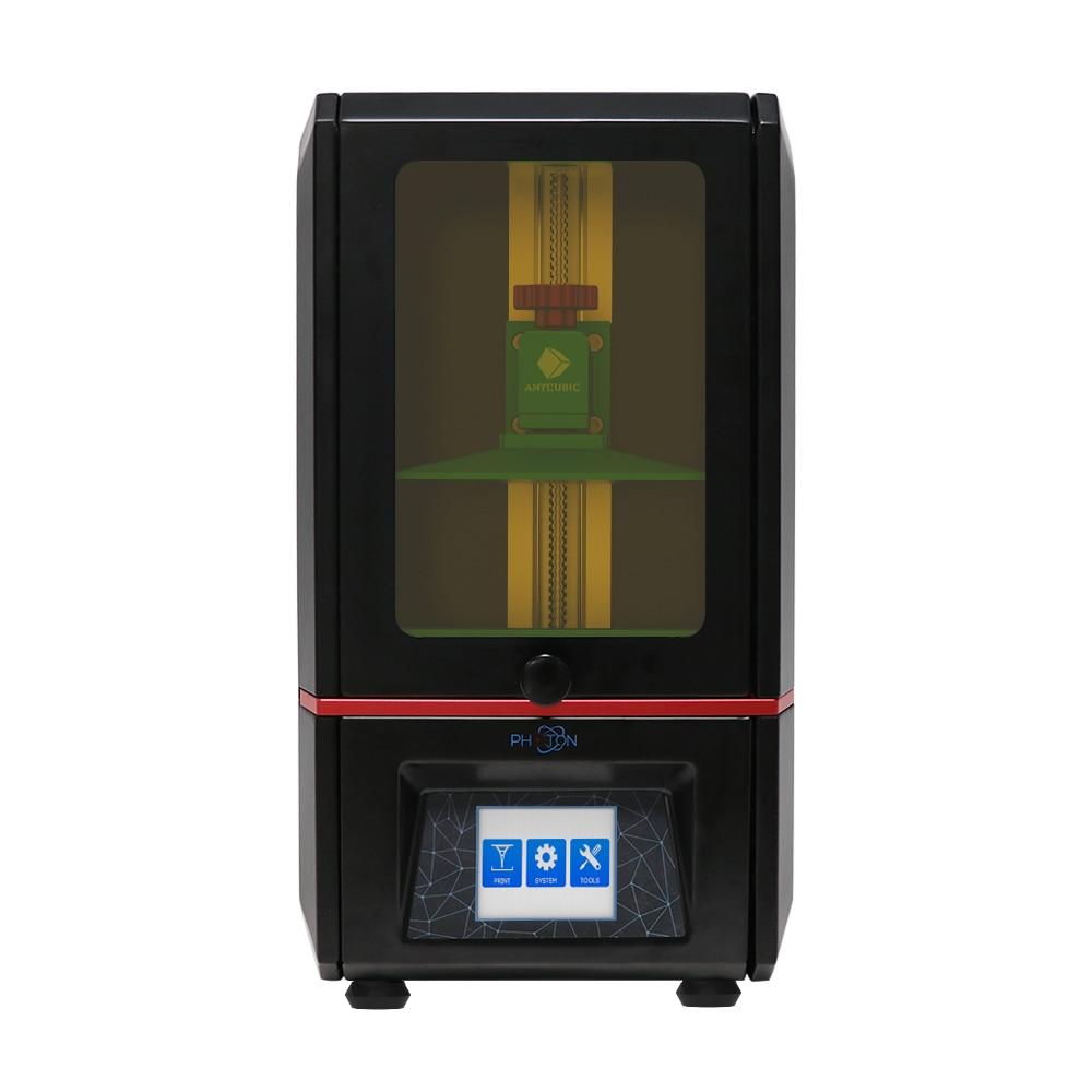 ANYCUBIC Фотон 3d принтер SLA УФ Смола свет лечение сенсорный экран lcd с 405 нм Смола Resina UV Impresora 3D быстрая печать