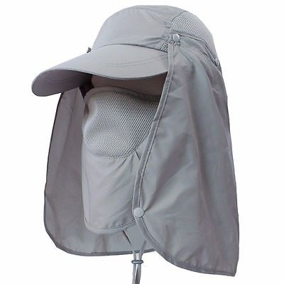 1d874ecb Hiking Boonie Hunting Snap Hat Fishing Outdoor Brim Ear Neck Cover Sun Flap  Cap-in Shade Sails & Nets from Home & Garden on Aliexpress.com   Alibaba  Group