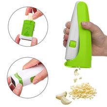 Convenient Garlic Cutter Magic Grater Mincer Squeeze Cuber Press Chopper Useful To Use