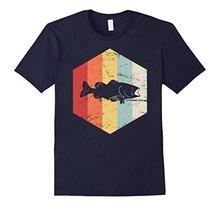 Vintage Retro Bass Fishinger 2018 New Mens T Shirts Men Tee Short Sleeve Fashion Shirt Classic
