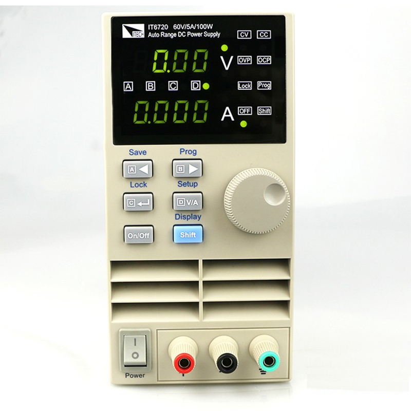 IT6721 high precision Adjustable Digital DC Power Supply 10mV/1mA 60V/8A for scientific research service Laboratory itech it6722 high precision adjustable digital dc power supply 60v 16a for scientific research service laboratory