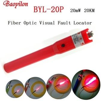 20km Laser pen Baoyilon Fiber Optic Visual Fault Locator BYL-20P Fiber Optic Cable Tester