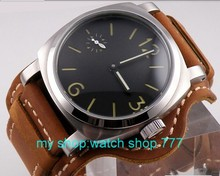 44mm parnis no logo 316l steel ST3600 mechanical hand chain movement Men s watch High quality