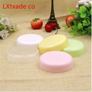 Image 3 - 50 PCS Free Shipping 10 20 100 ML Plastic Empty Bottles Jars Inner Cap Cosmetic Cream Eye Gel Butter Packaging Containers