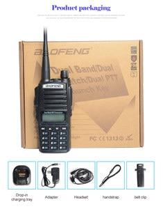 Image 4 - Baofeng uv 82 walkie talkie 136 174MHZ und 400 520MHZ (TX/RX) dual PTT FM Ham Two way Radio Transceiver, walkie talkie
