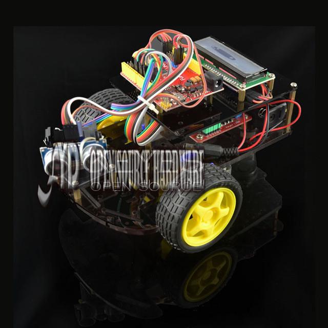 ¡ NUEVO! kit de coche inteligente coche Ultrasónico ultrasónico Que Van de tres generación inteligente de coches PARA