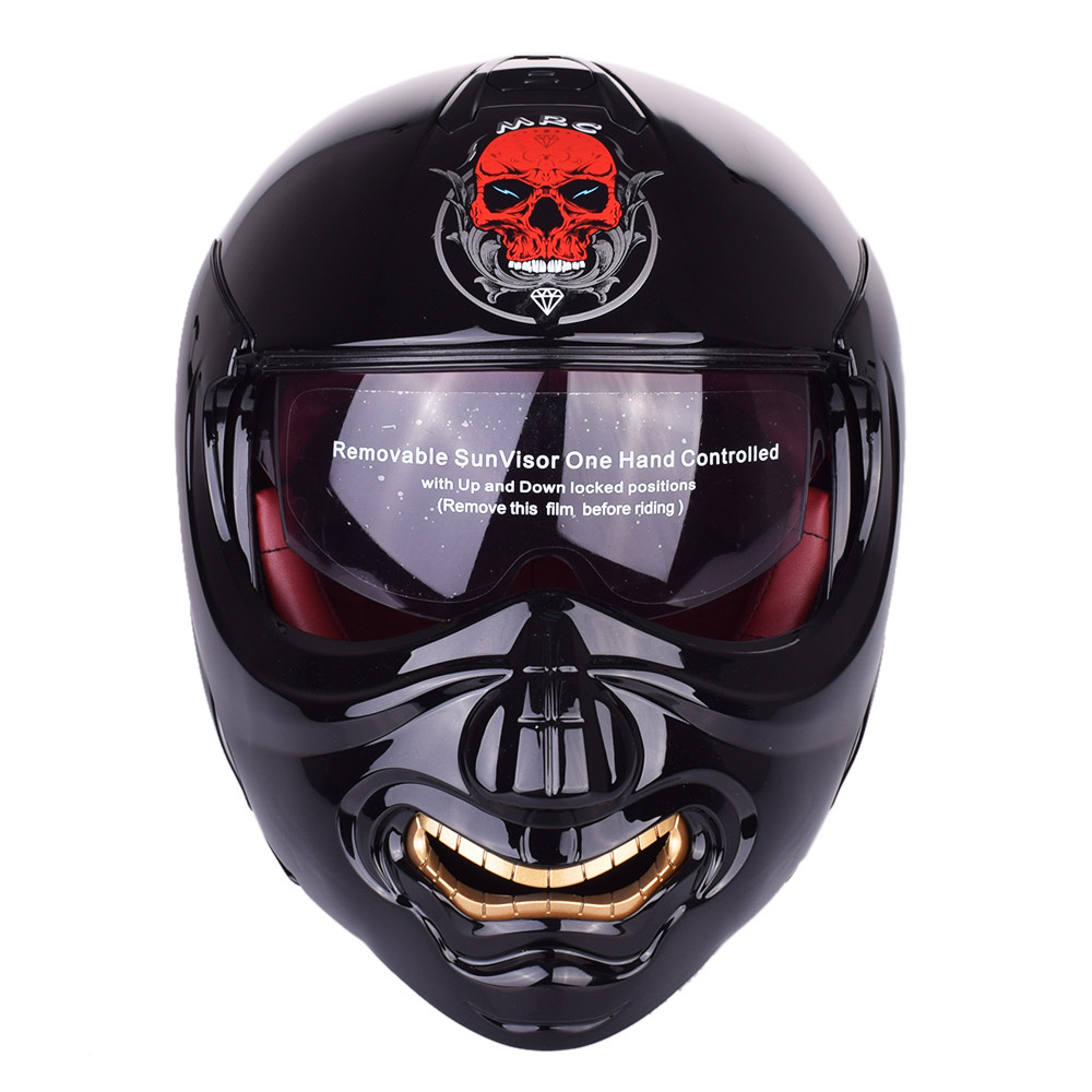 Monster Face Modular Motorcycle Helmet Full Face Helmet Motobike Motocicleta Cacapete Casco Casque Kask Moto Flip up Helmets футболка toy machine monster face red