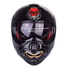 Monster Face Modular Motorcycle Helmet Full Face Helmet Motobike Motocicleta Cacapete Casco Casque Kask Moto Flip up Helmets