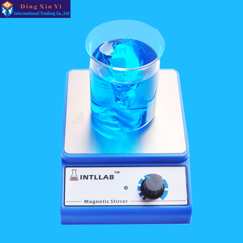 Laboratory agitator Magnetic Stirrer heater Magnetic Mixer with Stir Bar 3000 rpm Max Stirring Capacity: 3000ml sh ii 6 laboratory electric overhead stirrer stir plate agitator blender mixer