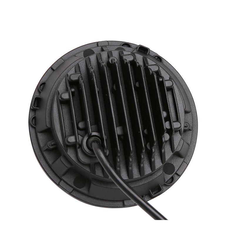 7 Zoll 45 Watt Ronde LED Halo Koplamp Kit Erfüllt LED Chips DRL Engel auge H4 H13 Hallo/Lo voor für Jeep JK 2009 2015 TJ YJ Hummer 1 satz - 4