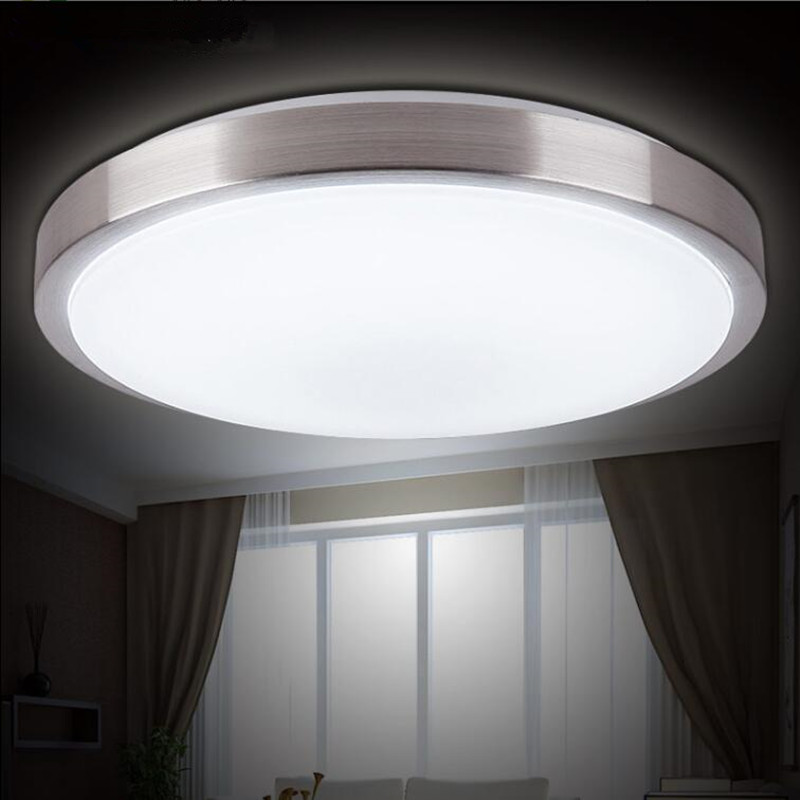 luces de techo led de la lmpara de dimetro cm marco de aluminio